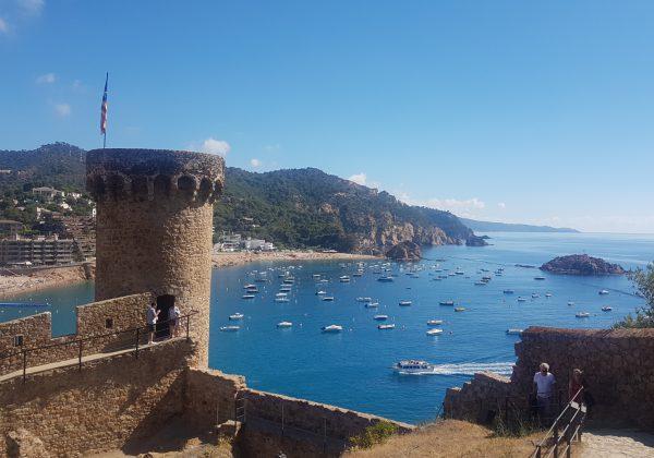 Tossa de mar, Spain Summer 2018