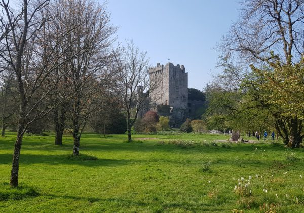 Blarney Castle and Wool Factory in County Cork, Ireland